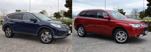 2014-Honda-CR-V-vs-2014-Mitsubishi-Outlander