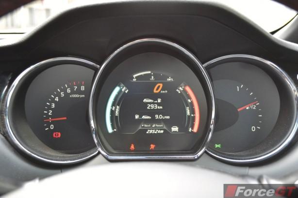 2014 Kia pro_cee'd GT Tech GT display