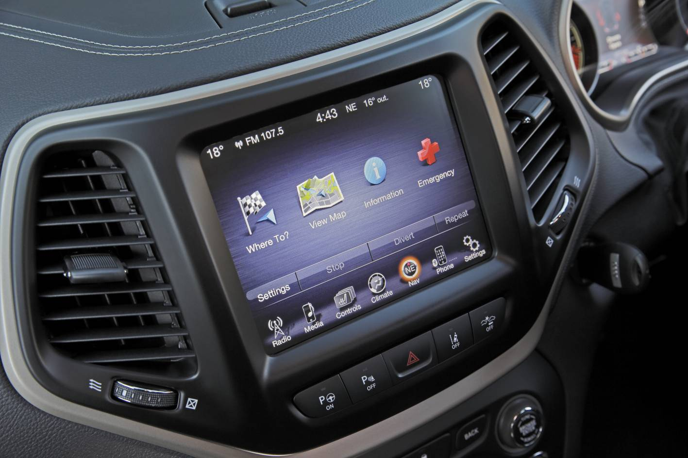 2015 Jeep Cherokee Limited Interior Uconnect Forcegt Com