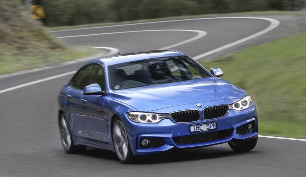 BMW 4 Series Gran Coupe front