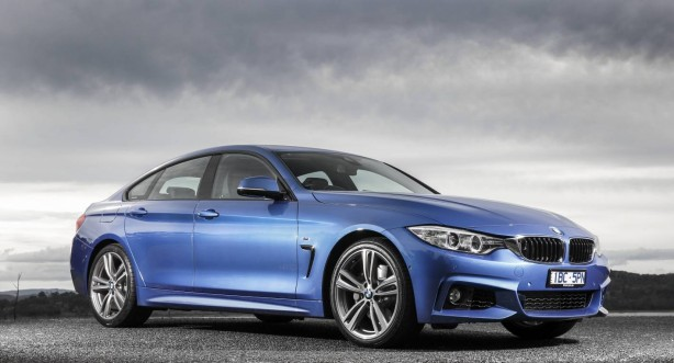 BMW 4 Series Gran Coupe front quarter