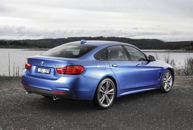 BMW 4 Series Gran Coupe rear quarter