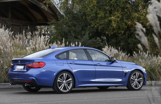 BMW 4 Series Gran Coupe side