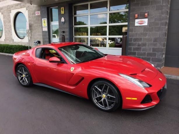 Ferrari SP America front quarter