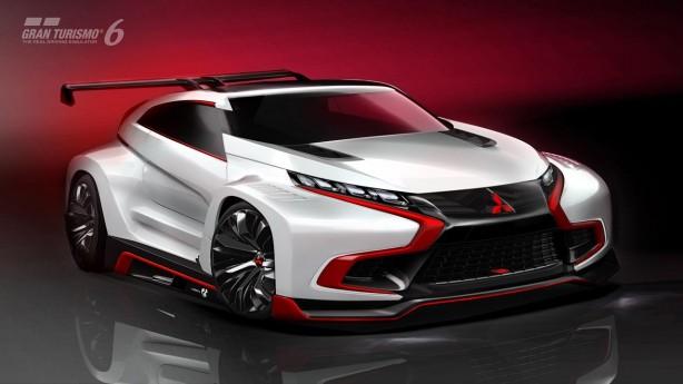 Mitsubishi-XR-PHEV-Evolution-Vision-Gran-Turismo-concept-front-quarter