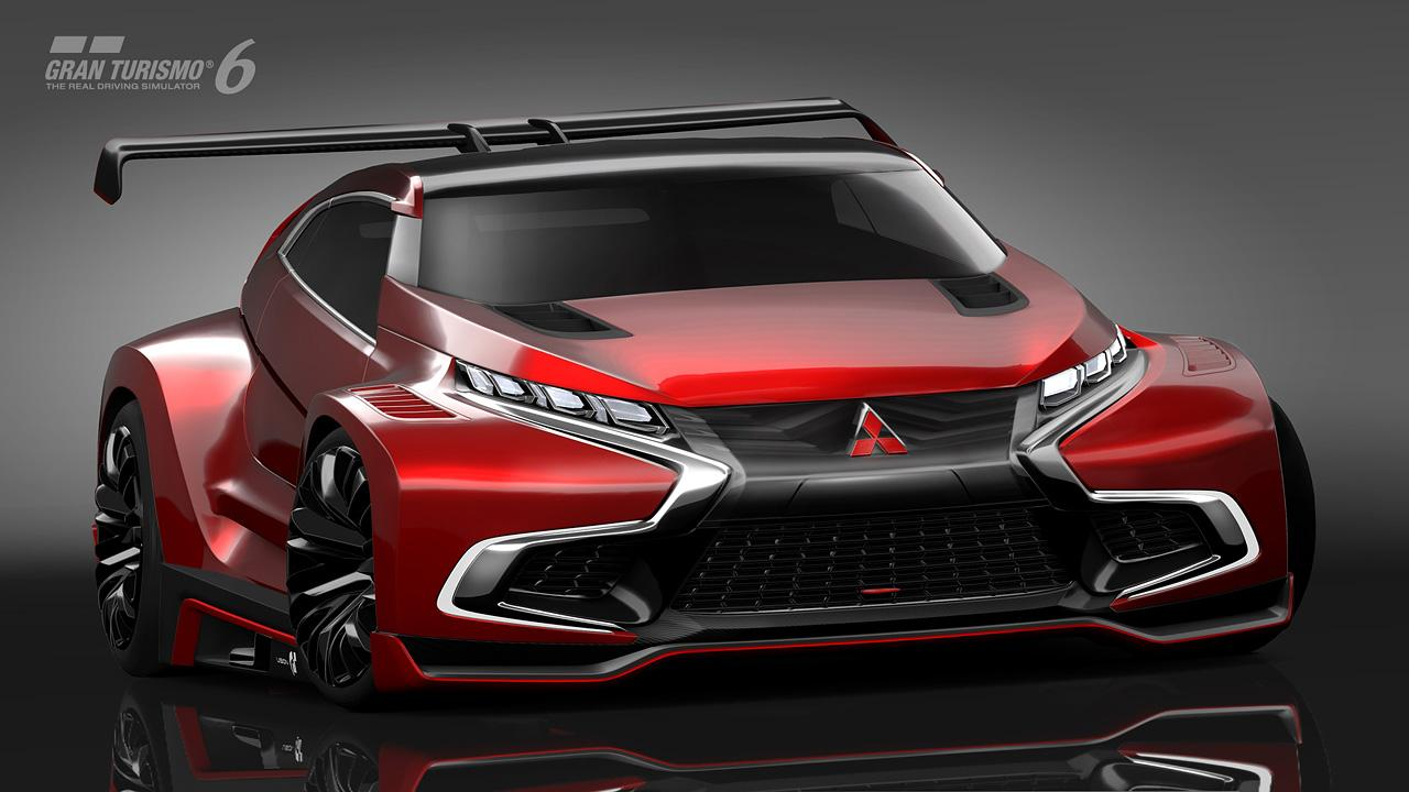 Mitsubishi Concept XR-PHEV Evolution Vision Gran Turismo ...