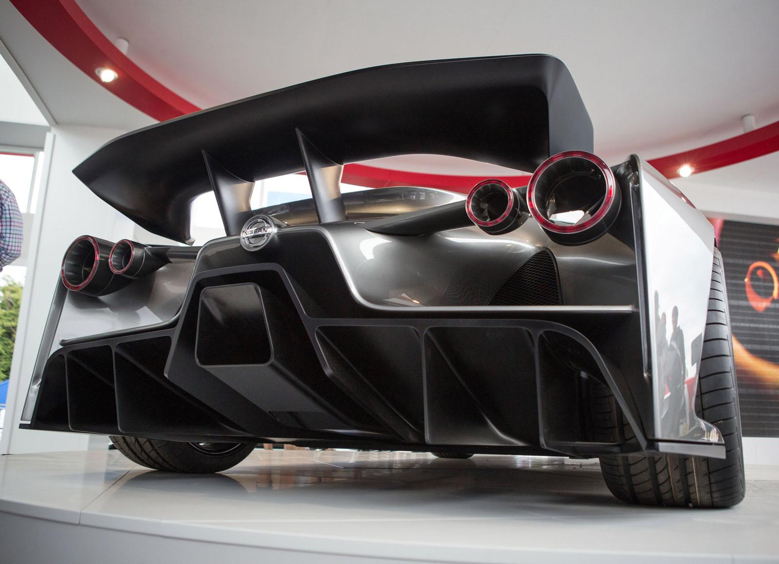 nissan concept 2020 vision gran turismo unwrapped at goodwood
