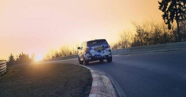 Range Rover Sport SVR prototype rear