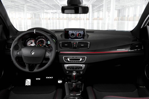 Renaultsport Megane R.S. 265 interior