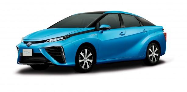 Toyota FCV_qtr+fronthr