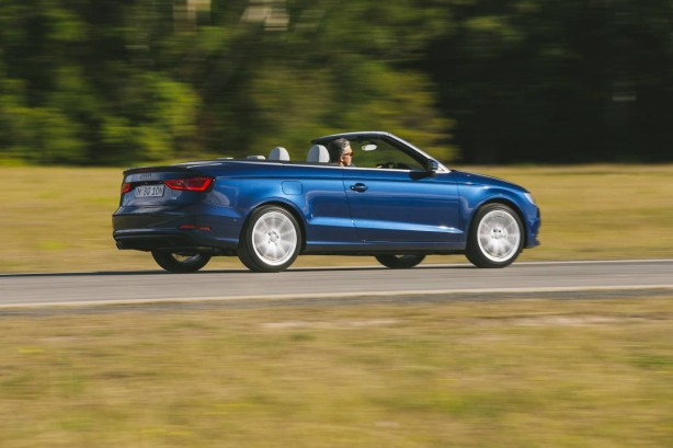 2014 Audi A3 Cabriolet side rolling