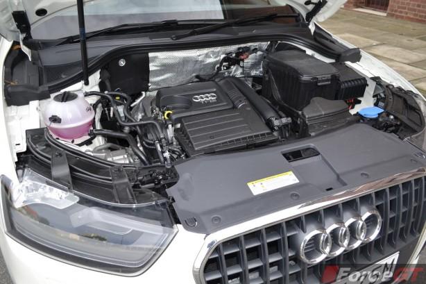 2014 Audi Q3 1.4TSI engine