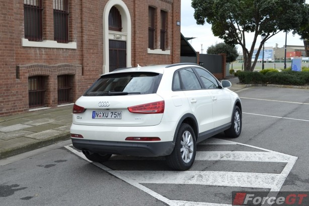 2014 Audi Q3 1.4TSI rear quarter