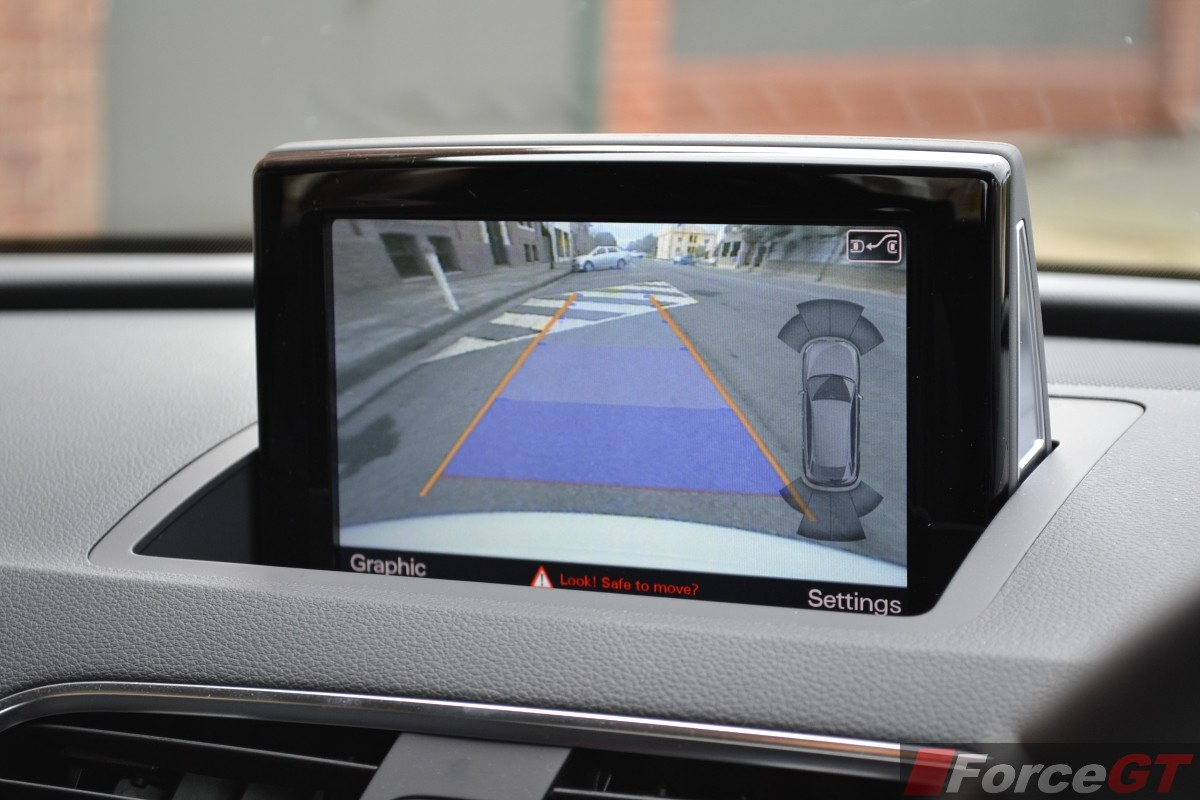 Audi Q Tsi Rear View Camera