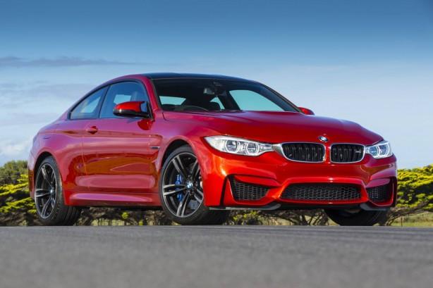2014-BMW-M4-Coupe-front-quarter