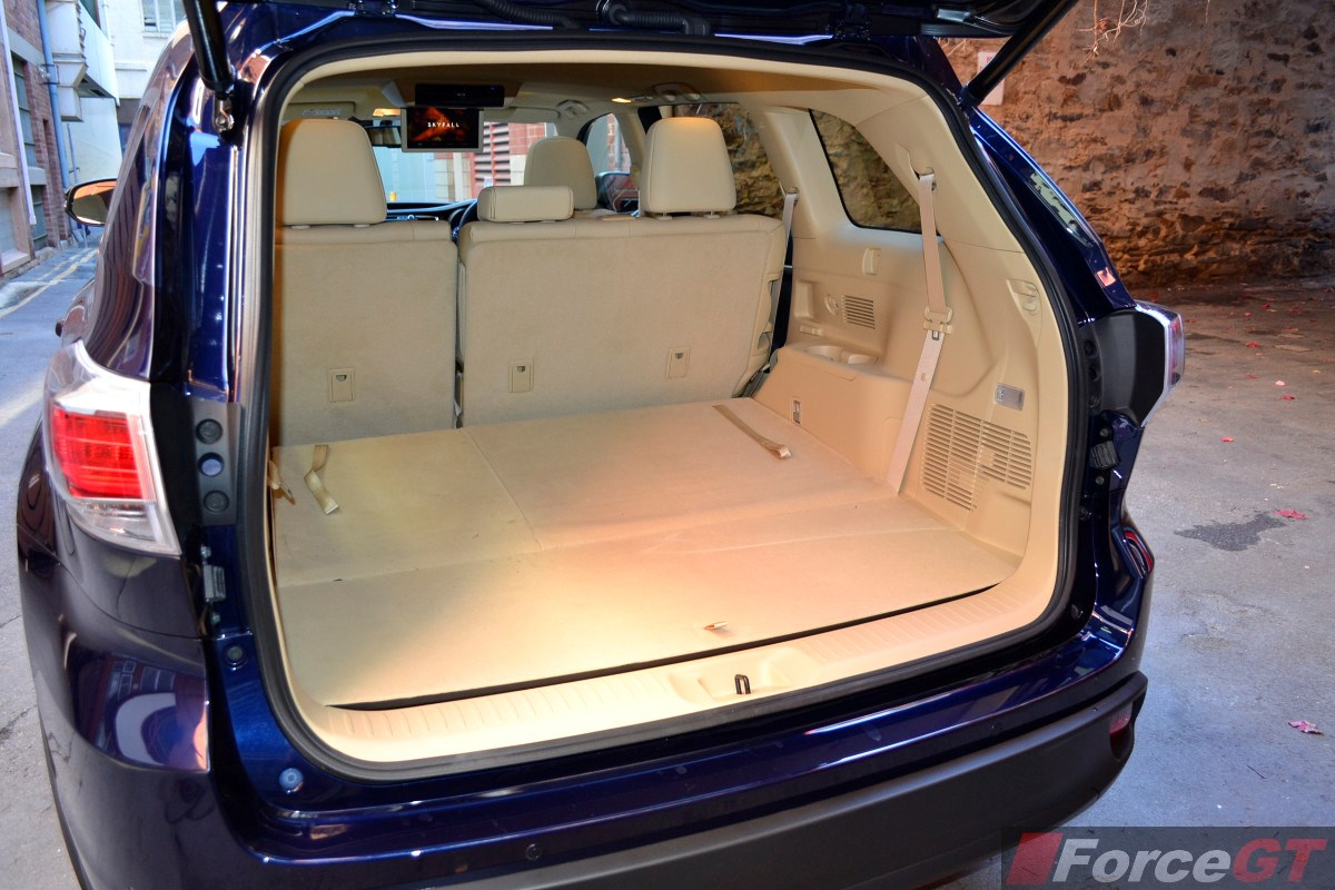 Toyota Kluger 2010 Interior The Amazing Fuse Box Location Other Model Years Source 2014 Grande Boot Space Forcegt Com