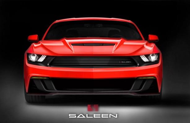 2015 Saleen S302 Mustang teaser