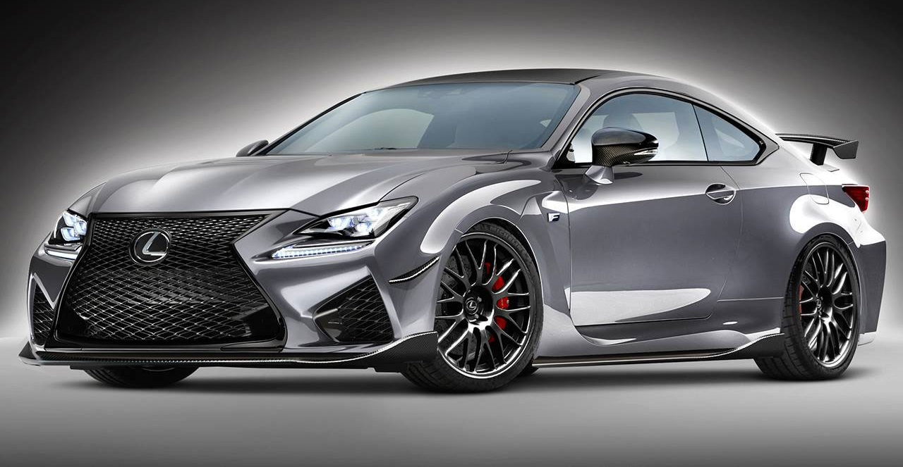 Twin Turbo Lexus Rc Fs Envisioned