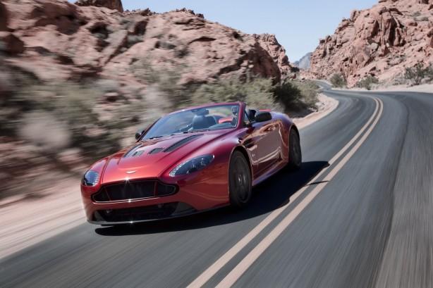 Aston Martin V12 Vantage S Roadster front quarter