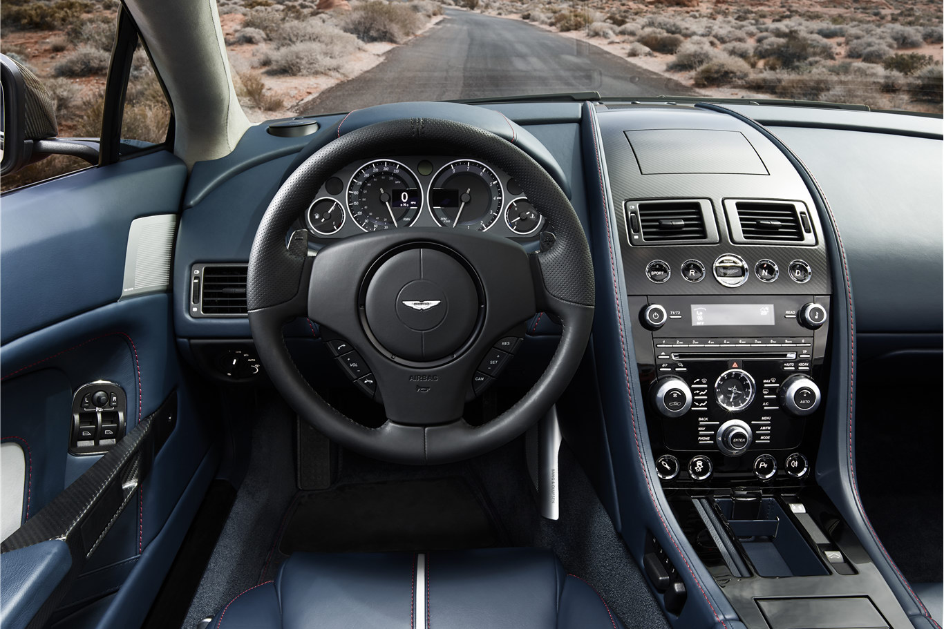 Aston Martin V Vantage S Roadster Interior