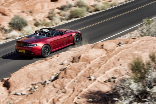Aston Martin V12 Vantage S Roadster rear quarter