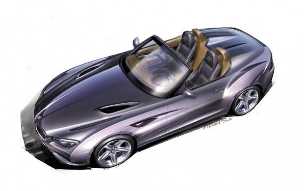 BMW Zagato Roadster sketch