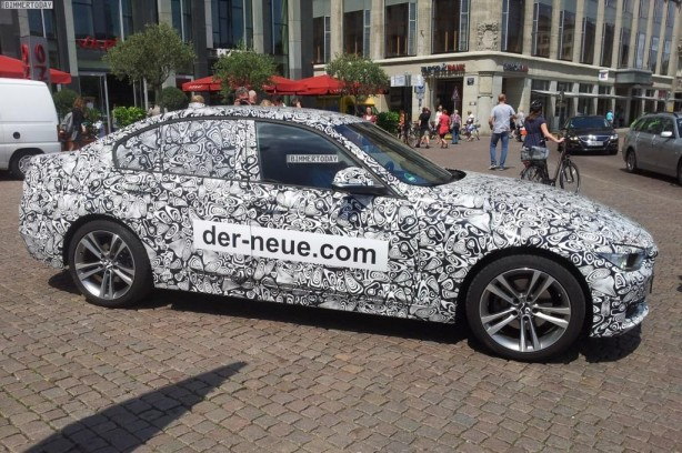 Jaguar camouflages BMW 3 Series to promote XE