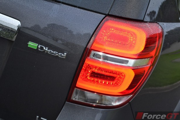 2014 Holden Captiva 7 LED taillight