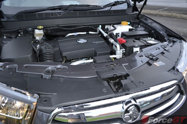 2014 Holden Captiva 7 engine