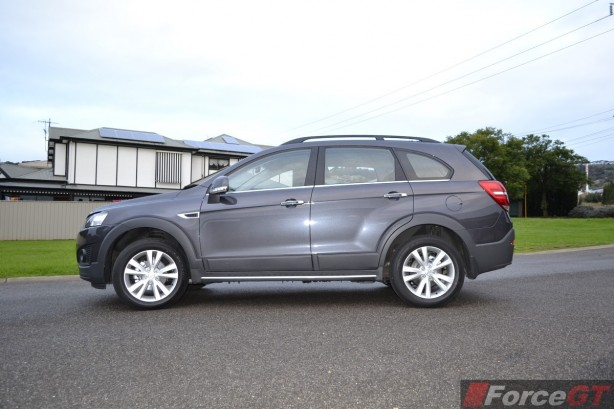 2014 Holden Captiva 7 side