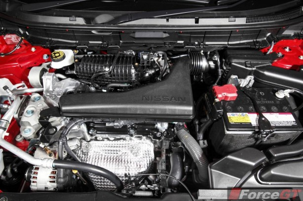 2014 Nissan X-Trail ST engine