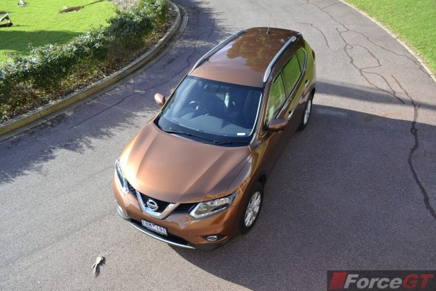 2014 Nissan X-Trail ST top