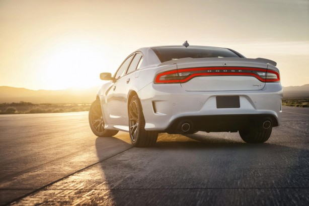 2015 Dodge Charger SRT Hellcat rear