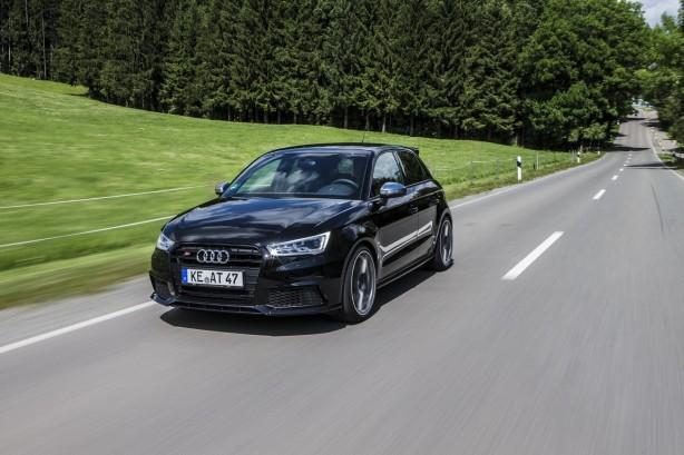 ABT tuned Audi S1 front quarter-1