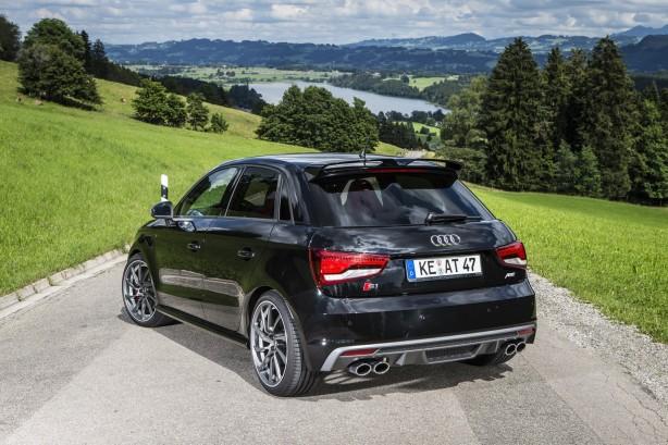 ABT tuned Audi S1 rear quarter