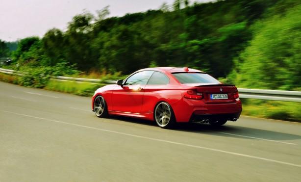 AC Schitzer tuned BMW 2 Series Coupe rear quarter