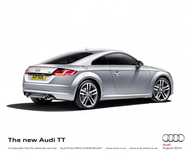 Audi TT side
