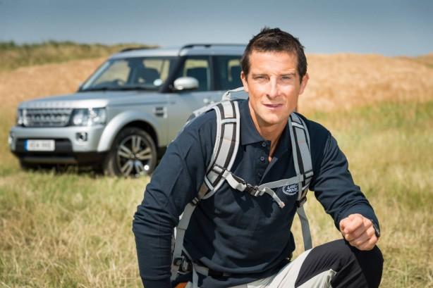 Bear Grylls Land Rover ambassador