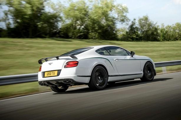 Bentley Continental GT3-R rear quarter-1