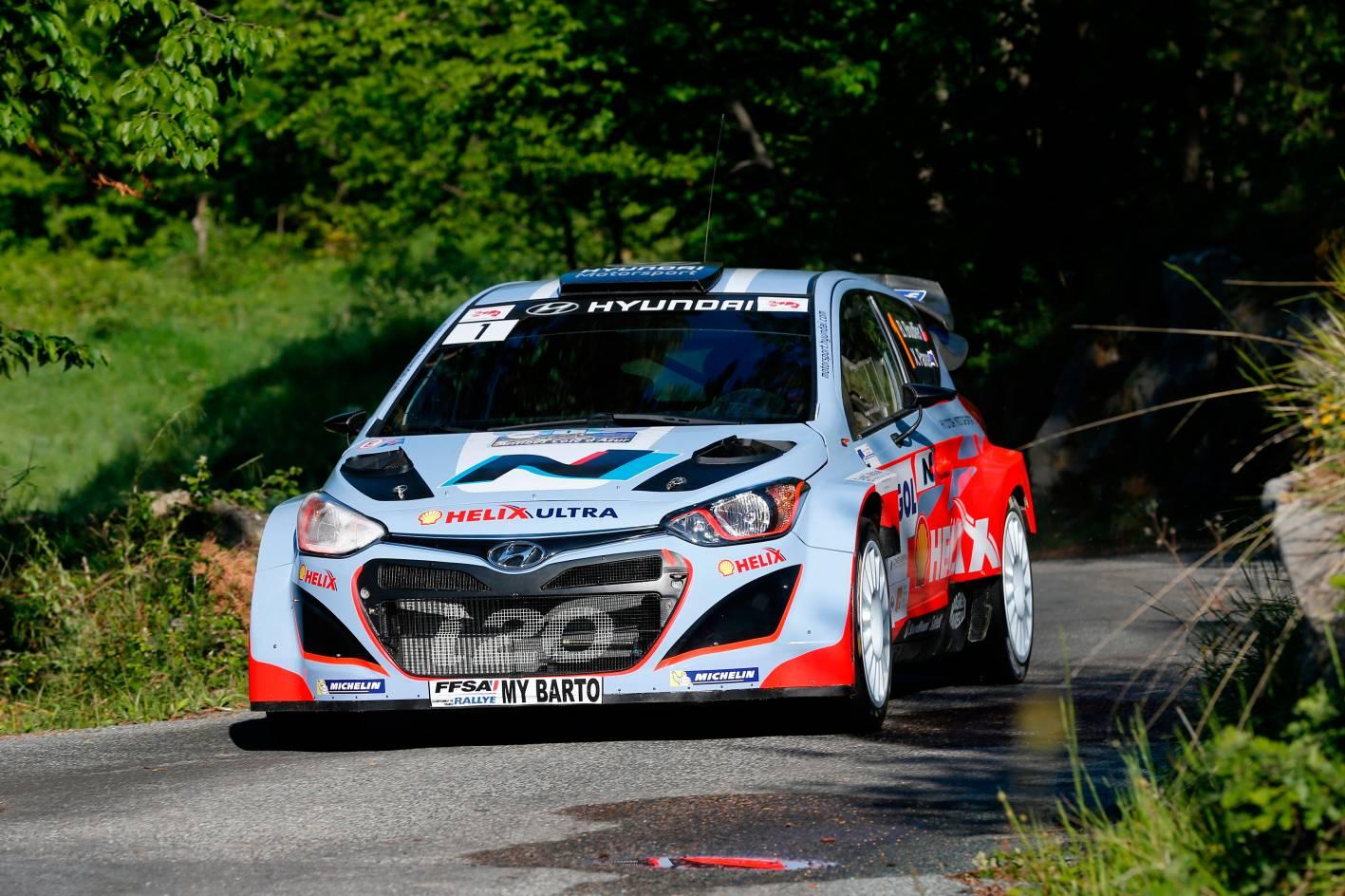 hyundai wrc team set  tarmac challenge  rallye deutschland