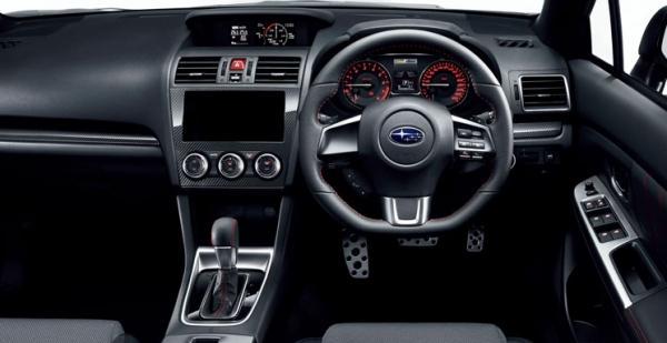 JDM Subaru WRX S4 interior