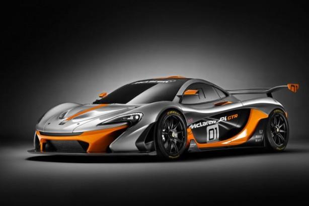 McLaren P1 GTR front quarter