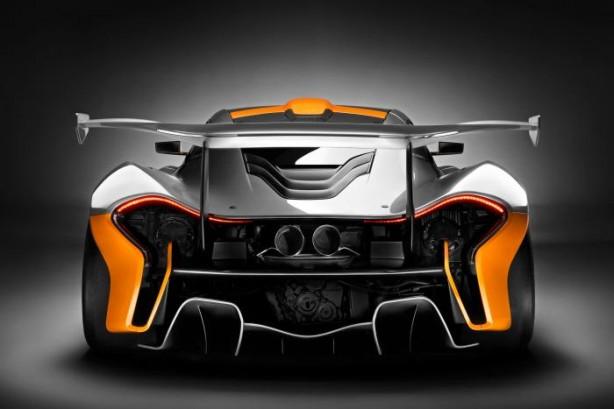 McLaren P1 GTR rear
