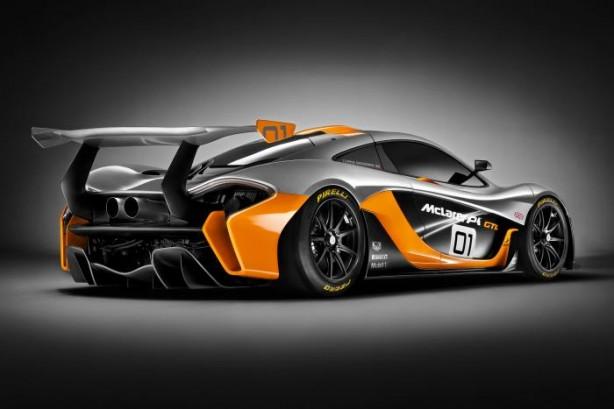 McLaren P1 GTR rear quarter