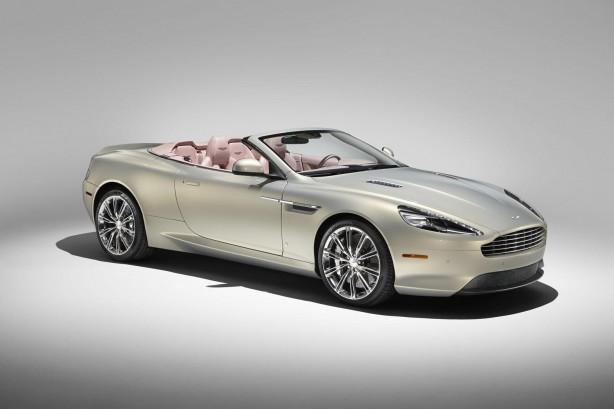 Q by Aston Martin DB9 Volante front quarter