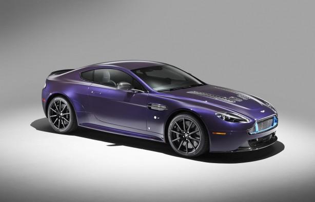 Q by Aston Martin V12 Vantage S front quarter