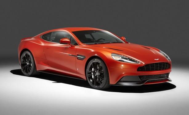 Q by Aston Martin Vanquish Coupe front quarter