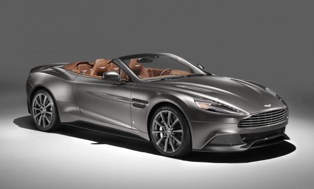 Q by Aston Martin Vanquish Volante front quarter