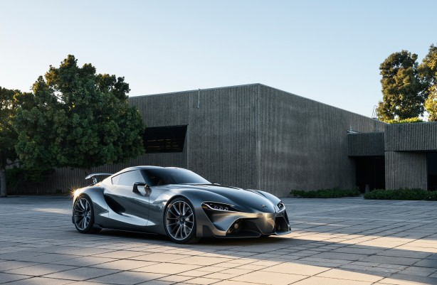 Toyota FT-1 concept MkII front quarter