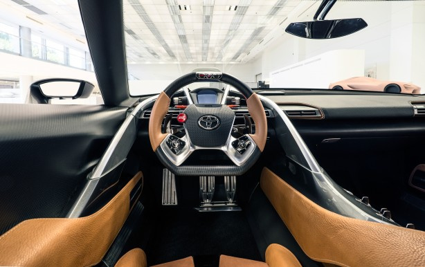 Toyota FT-1 concept MkII interior